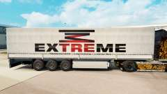 Extreme skin for trailers for Euro Truck Simulator 2