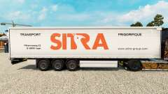 Sitra skin for curtain semi-trailer for Euro Truck Simulator 2
