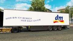 Semitrailer refrigerator Schmitz DM Drugstore for Euro Truck Simulator 2