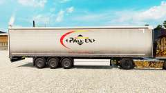 Skin Pall-Ex to curtain semi-trailer for Euro Truck Simulator 2