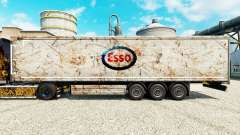 Skin Esso on semi for Euro Truck Simulator 2