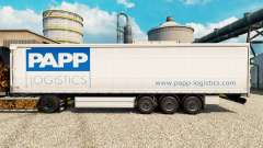 Skin Papp Logistics for trailers for Euro Truck Simulator 2