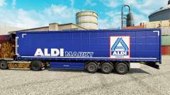 Skin Aldi Markt for semi-trailers for Euro Truck Simulator 2