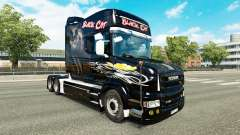 Black Cat skin for Scania T truck for Euro Truck Simulator 2