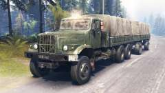 KrAZ-255 main for Spin Tires