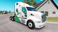 Skin DFS truck tractor Peterbilt 387 for American Truck Simulator