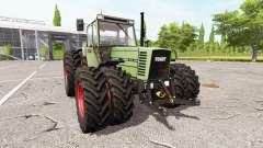Fendt Farmer 312 LSA Turbomatik v1.0.0.3 for Farming Simulator 2017