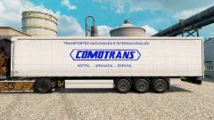 Skin ComoTrans for trailers for Euro Truck Simulator 2