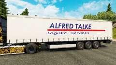 Skin Alfred Talke to trailers for Euro Truck Simulator 2