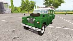Land Rover Series IIa Station Wagon 1965 v2.0 for Farming Simulator 2017