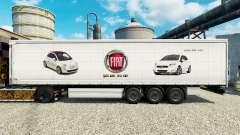 Fiat skin for trailers for Euro Truck Simulator 2