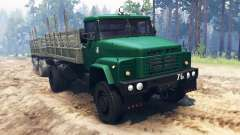 KrAZ-260 4x4 for Spin Tires
