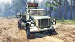 AM General M35A3 1993 for Spin Tires