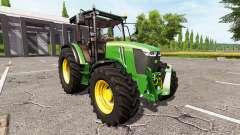 John Deere 5075M for Farming Simulator 2017