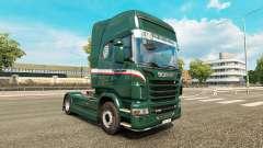 Wallenborn skin for Scania truck for Euro Truck Simulator 2
