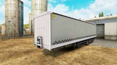 Curtain semi-trailer Schmitz Cargobull for Euro Truck Simulator 2