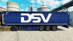 DSV skin for trailers for Euro Truck Simulator 2