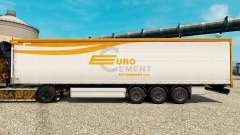Skin EUROCEMENT to trailers for Euro Truck Simulator 2