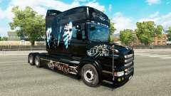 Batman skin for truck Scania T for Euro Truck Simulator 2