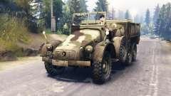 Krupp Protze L2H43 for Spin Tires