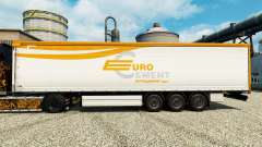 Skin Eurocement group on semi for Euro Truck Simulator 2