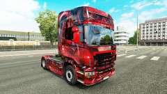 Hintergrund skin for Scania truck for Euro Truck Simulator 2