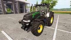 Case IH Puma 200 CVX black panther v1.3 for Farming Simulator 2017