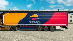 Skin Repsol for trailers for Euro Truck Simulator 2