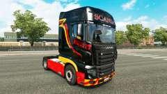 Pirelli skin for Scania R700 truck for Euro Truck Simulator 2
