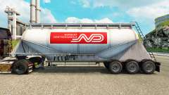 Skin Norbert cement semi-trailer for Euro Truck Simulator 2