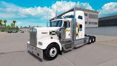 Skin Scotland on the truck Kenworth W900 for American Truck Simulator