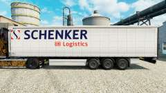 Skin Schenker Logistics to trailers for Euro Truck Simulator 2
