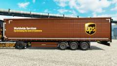 Skin United Parcel Service Inc. on semi for Euro Truck Simulator 2