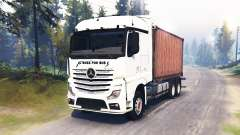 Mercedes-Benz Actros MP4 for Spin Tires