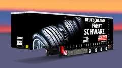 Krone curtain semi-trailer Fulda for Euro Truck Simulator 2