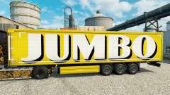 Skin on Jumbo trailers for Euro Truck Simulator 2