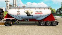 Skin PPC Ltd. cement semi-trailer for Euro Truck Simulator 2
