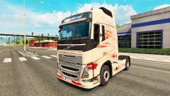 Bloody skin for Volvo truck for Euro Truck Simulator 2