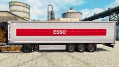 Skin Esso on semi for Euro Truck Simulator 2