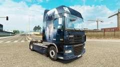 Wolf skin for DAF truck for Euro Truck Simulator 2