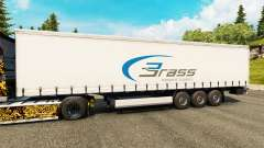 Skin Brass Transport Logistics for trailers for Euro Truck Simulator 2