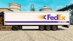 FedEx skin for trailers for Euro Truck Simulator 2