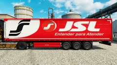 JSL skin for trailers for Euro Truck Simulator 2