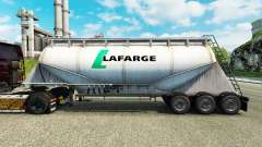 Skin Lafarge cement semi-trailer for Euro Truck Simulator 2