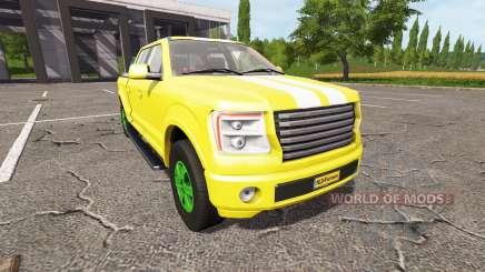 Lizard Pickup TT Service v1.3 for Farming Simulator 2017