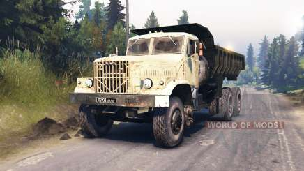 KrAZ-256 v1.1 for Spin Tires