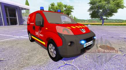 Peugeot Bipper SDIS for Farming Simulator 2017