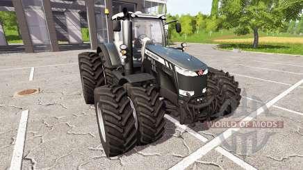 Massey Ferguson 8737 black edition for Farming Simulator 2017