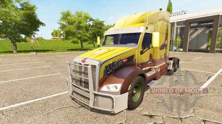 Peterbilt 579 for Farming Simulator 2017
