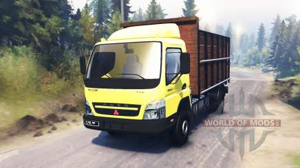 Mitsubishi Fuso Canter (FE7) for Spin Tires